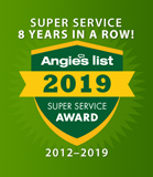 Angie's List Award Winner