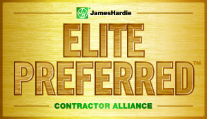 James Hardie Elite Preferred Contractor